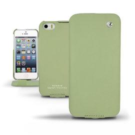 Perpetuelle橄欖綠色 「Apple iPhone 5S」蘋果 iPhone5S 皮套 真皮保護皮套 手機套 手工訂製 法國NOREVE頂級手機皮套 專賣店 推薦
