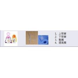 Nuby 吸管配件組-不銹鋼真空背帶水壺 #ART NO.9