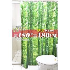 #9829 采緹 #9829 4F2388 180*180 PEVA 防水浴簾、乾濕分離˙
