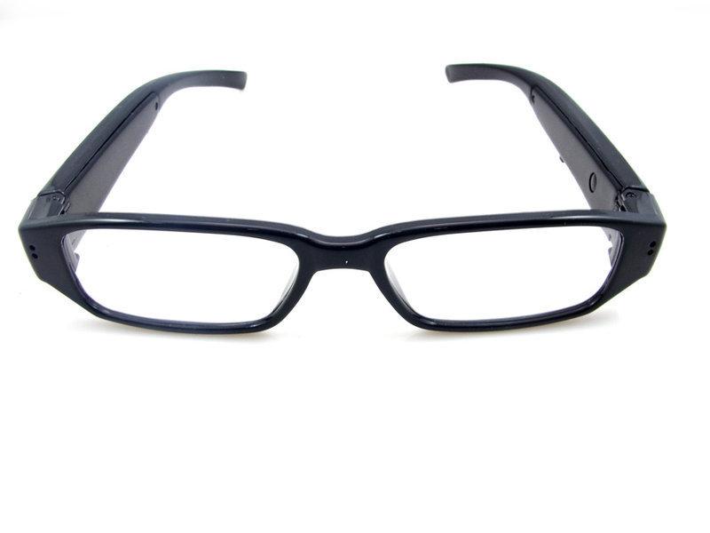 720p高清平光眼镜摄像机