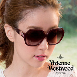 Vivienne Westwood 英國薇薇安魏斯伍德英倫龐克光學眼鏡 酒紅  VW788