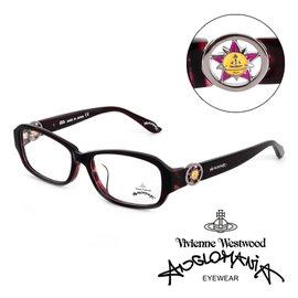 Vivienne Westwood 英國Anglomania英倫龐克光學眼鏡^(紫^) A