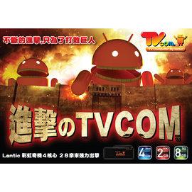 首賣送 LANTIC Android 4.2.2 TV Dongle 四核心 8G 無線W