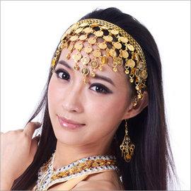 肚皮舞三角頭箍E331~A0081頭飾.髮圈.髮飾.表演出服飾.中東肚皮舞蹈服飾.成果展.