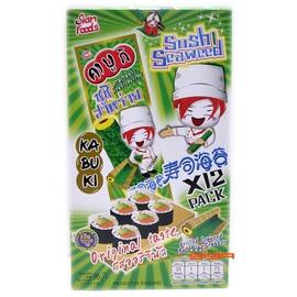 【吉嘉食品】非常棒壽司海苔玉米捲/海苔捲/海苔棒(原味)~1盒8公克*12條入100元