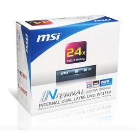 ~ ~ MSI 微星 DH~24AS 24x 內接式 DVD~RW 燒錄機 燒錄器 盒裝一