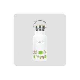 探險家戶外用品㊣FJ-DR1001PL-35 Driver彩繪白(CDW)長效真空瓶[竹蓋]350c.c.斷熱杯 隔熱杯 保溫瓶保冷杯