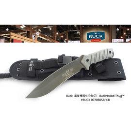 Buck 暴徒極限生存砍刀 ~ Hood Thug ^#8482 ~ ^#BUCK 007