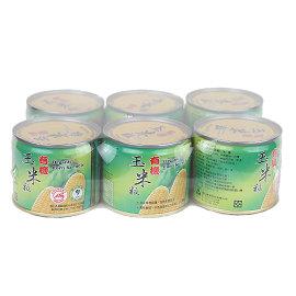 青葉~有機玉米粒 6罐入   單罐220g
