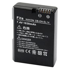 Kamera for Nikon EN~EL14 高 鋰電池^(全解再升級^)
