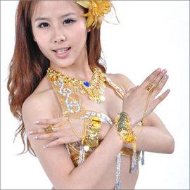 肚皮舞串幣中指手鍊一對E331~A0083^(手環手鏈.肚皮舞飾品.表演服.演出服.中東肚