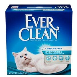 ~狗衣網~藍鑽EverClean~白標~雙重活性碳低過敏結塊貓砂25lb^(強效除臭^)