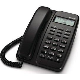 PHILIPS 飛利浦 有線電話M10/ M10 黑