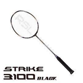 2014RSL羽球拍_Strike 3100~黑 含單隻拍套 ~ 獨賣
