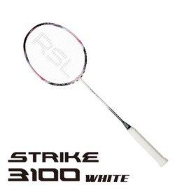 2014RSL羽球拍_Strike 3100~白 含單隻拍套 ~ 獨賣