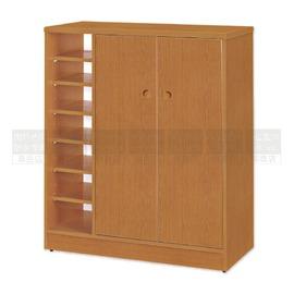 ~南亞塑鋼防水傢俱 ~左開放右雙開門防水鞋櫃^(02T45RC05SB01^) 櫃 衣櫃