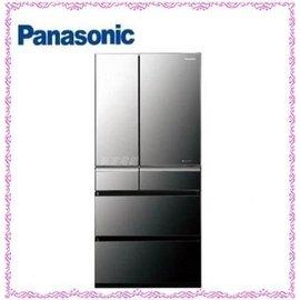 ~~新家電錧~~ ~Panasonic國際 NR~F681WX~X1~675L 製六門晶鑽