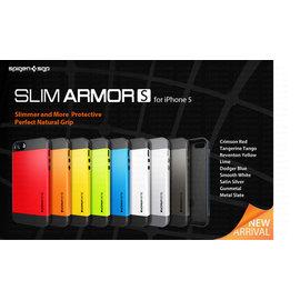 【海思數位3C】SGP公司貨 新改版第二代 Slim Armor S版 iPhone 5/ iPhone 5S 雙層護盾 超薄保護殼 手機殼