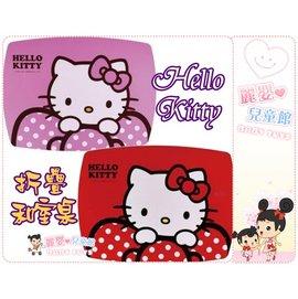 麗嬰兒童玩具館~Hello Kitty三麗鷗正版-蝴蝶節凱蒂貓長桌.電腦桌摺疊和室桌~台灣製