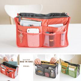 ~韓國 品牌 invite.L~袋中袋 拉鍊式 手提包 包包收納幫手 手機 平板電腦 錢包