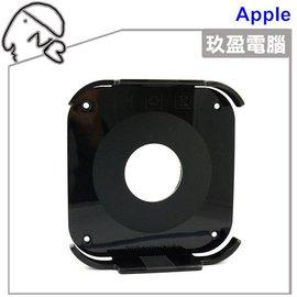Apple TV 2代3代通用支架 APPLE TV2 TV3 可黏電視後方 不影響遙控功能 內附強力的3M膠 蘋果電視 安裝方便 壓克力材質 黑色