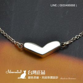~ SilverFly銀火蟲銀飾 ~拉斐爾之心•純銀項鍊 ^( 可指定刻字 ^) 情人節•