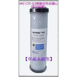 ~年盈淨水器,濾材專賣網~10英吋 美國 MATRIKX 品牌  CTO KX塊狀活性炭濾