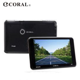 《e-man》CORAL行車+測速+導航 多合一功能導航機(TP-668)