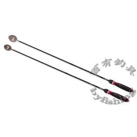 ◎百有釣具◎V-FOX  TCW系列 鈦合金誘餌杓 (彩木握把) 磯釣基本裝備 68cm/78cm 有孔/無孔