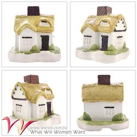 ~ 香堂 Nippon Kodo~ 歐洲香氛炊煙聖誕小屋 香爐 童話物語  紫羅蘭錐香組1