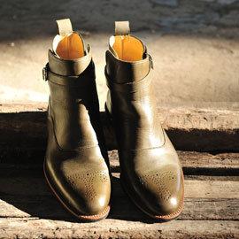 林果良品 傑德普膠底靴 橄欖綠
