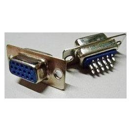 (工程用) VGA 15P 母頭 轉接頭/焊接頭/實心針