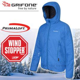【西班牙 Grifone】BluePoint男單件式輕量防風保暖外套Windstopper+ Primaloft Eco.雪衣.保暖大衣.夾克/輕量.防風.超保暖/多款顏色