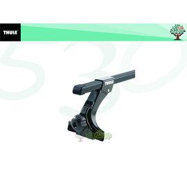 ^(舞山林^)THULE 369 排水溝 型  雨槽型 行李架套裝 760方桿 ^(108