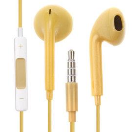蘋果 iphone5 iphone6 3.5mm 專用規格耳機(帶麥克風-線控可調音量)