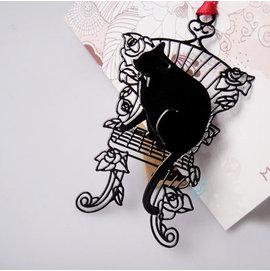 創意金屬書籤 貓的報恩~坐椅   ◇/書夾/金屬書簽/創意禮品/婚禮小物