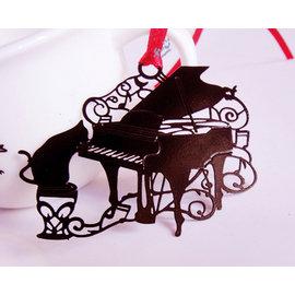 創意金屬書籤 貓的報恩~彈鋼琴   ◇/書夾/金屬書簽/創意禮品/婚禮小物