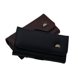 台灣製 ASUS Fonepad Note 6  (ME560CG)適用 荔枝紋真正牛皮橫式腰掛皮套 ★原廠包裝★ 加大版