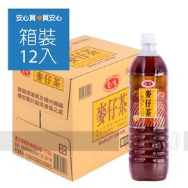 【愛之味】麥仔茶1480ml,12瓶 箱, 不加防腐劑,平均單價36.58元