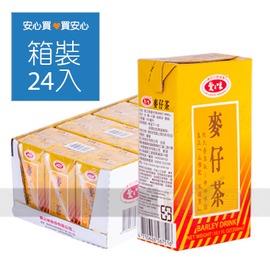 【愛之味】麥仔茶300ml,24罐 箱, 不加防腐劑,平均單價8.71元