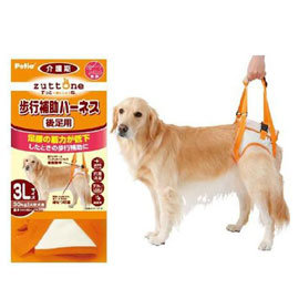 狗衣網~~缺貨中~ PETIO~老犬介護用步行輔助胸背帶^(後腳 ^) 3L