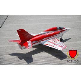 ~RCBLOG~EPO 90級導風扇Stinger大毒蠍 特技機12葉金屬筒導風扇 電動避