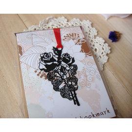 創意金屬書籤 浪漫玫瑰   ◇/書夾/金屬書簽/創意禮品/婚禮小物