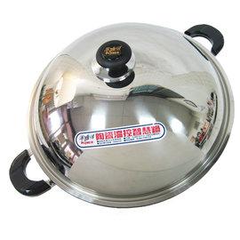 米雅可陶瓷溫控智慧鍋-雙耳-42cm