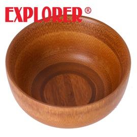 探險家戶外用品㊣DH0102 台灣製大禾竹藝工坊孟宗竹碗-小 環保餐具 無毒 手工 麵碗 抗菌