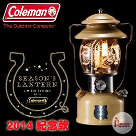 CM-4196美國Coleman 2014日本紀念款氣化燈【COWBOY】限量版/北極星汽化燈/露營燈