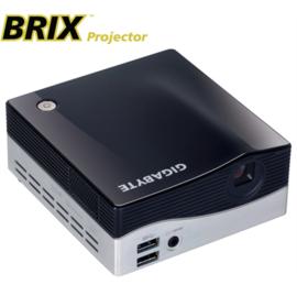 【玩家精品】4G+SSD128G GIGABYTE技嘉 GB-BXPi3-4010 BRIX Projector HTPC 帶微型投影機 MSATA HDMI /DP/ Wi-Fi 迷你電腦主機