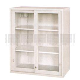 ~南亞塑鋼傢具 ~玻璃加框拉門上置式公文櫃^(第1~56項^)鋼製公文櫃^(07HY104