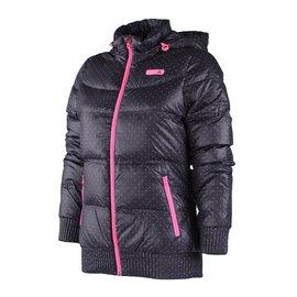 6折出清~Adidas~女 防風 保暖 輕柔 可拆帽 羽絨外套-紫 (W58489)