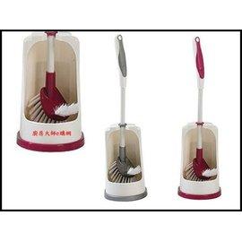 廚房大師~B4873巧巧 雙效馬桶清潔組 清潔刷 廁所刷 馬桶刷